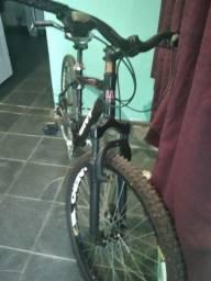 Título do anúncio: Bicicleta Wny Aro 26 Freio À Disco 21 Marchas - Preta