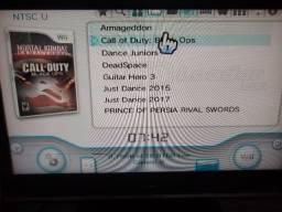Nintendo Wii com jogos e destravado