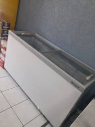 Freezer horizontal gelopar semi novo top
