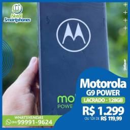 MOTOROLA MOTO G9 POWER - VERDE 128GB LACRADO BATERIA 6000MAH - DUAL CHIP