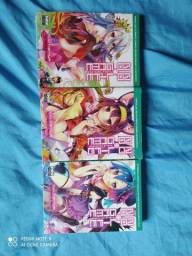 Light Novel: No Game No Life 1,3 e 4(lacrados)