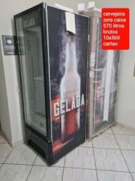 Título do anúncio: Cervejeira  na caixa nota fiscal garantia de fábrica 2 anos 10x568