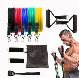 Elásticos para Exercícios Kit Elásticos Últimas Unidades
