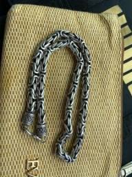 Cordão prata de Bali 149 gramas