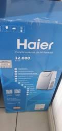 Ar condicionado portátil haier 12.000 btus