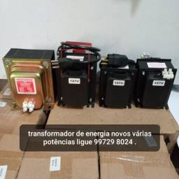AUTO TRANSFORMADORES DE ENERGIA NOVOS COM GARANTIA A PRONTA ENTREGA.