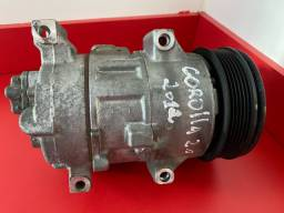 Compressor ar condicionado Corolla 2.0 2012