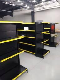 Móveis para lojas, Gondolas de aço para Mercearia e lojas em geral