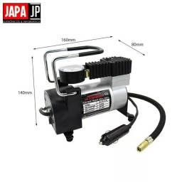 Compressor De Ar Veicular Profissional Portátil 12v Carro