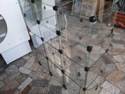 Balcão  Vitrine Expositor de vidro novas. R$548,00