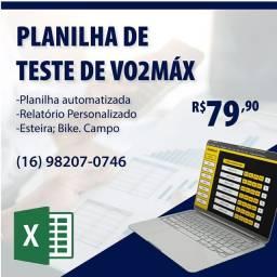 Planilha de Vo2max