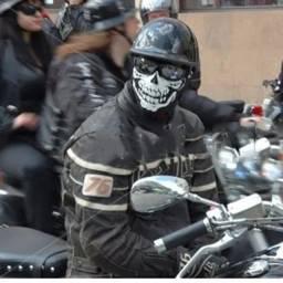 Balaclava Caveira Esqueleto Tatica Militar Pm Moto