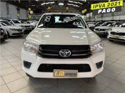 Título do anúncio: Toyota Hilux 2018 2.8 std 4x4 cd 16v diesel 4p manual