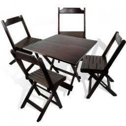 Jogos de Mesa e Cadeira 70x70