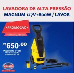 Lavadora de Alta Pressão Magnum 127V/50-60HZ ? Entrega grátis
