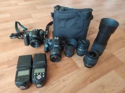 Bolsa para Dslr / camera fotografica