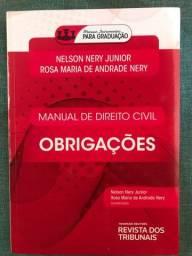 Título do anúncio: Livro Direito das obrigações nunca usado
