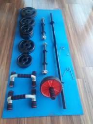 Título do anúncio: Musculação e funcional! Muito novos!