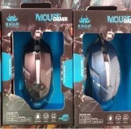 Título do anúncio: Mouse Gamer 1600 Dpi 3 Botoes Knup - Opções na Descrição