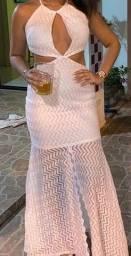 Título do anúncio: Vestido longo branco