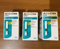 Fita Teste para medidor de glicose R$70,0 cada