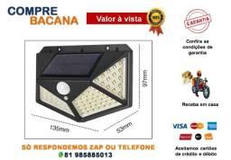 Título do anúncio: Refletor Com Sensor De Presença Placa Solar