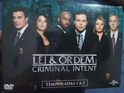 Título do anúncio: Série Lei & Ordem: Criminal Intent temporadas 1 a 5 #usado