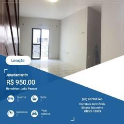 Título do anúncio: Apartamento 03 quartos próximo a principal dos Bancários.
