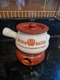 Panela de Fondue Baden Baden em Cerâmica