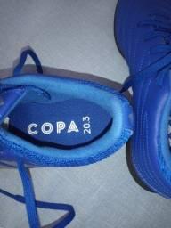 Título do anúncio: Chuteira Nova - Society Adidas Tamanho 36