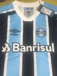 Camisa do Grêmio 2021/2022 a pronta entrega nos tamanhos M, G, GG, G2