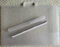 pasta e escalímetro da trident