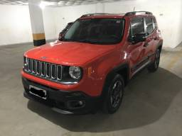 Título do anúncio: Jeep Renegade Sport 1.8 Flex, Manual, 2017/2017 (Único dono)