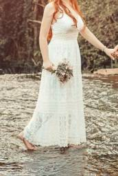 Vestido branco pré wedding