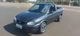 Pick-Up Corsa com Direção Hidraulica 2002 - Suspensão Traseira igual da Strada