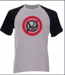 Camiseta Raglan Duff The Simpson