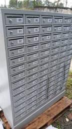 Armario caixa postal usado com chave