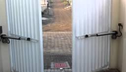 Portão automático e interfone