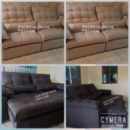 Título do anúncio: Sofás retrátil , sofás reclinável
