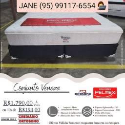 Título do anúncio: Cama Queen Pelmex PROMOÇÃO nova de fábrica