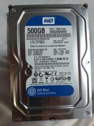 HD Western Digital de 500GB Sata