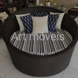 Chaise sofá concha