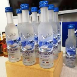 Miniatura Vodka Grey Goose Francesa - 50ml - Original, Lacrada e Licenciada