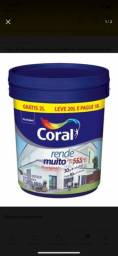 Tinta rende muito coral 20L branca