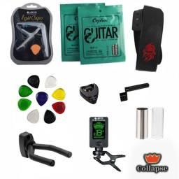 Super kit de acessórios - Violão, Baixo e Guitarra