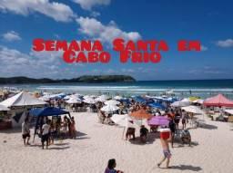 Feriadão de Semana Santa em Cabo Frio