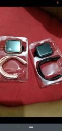 Título do anúncio: Smart Watch Bluetooth com Monitor de Fitness / Monitor de Pressão Arteria