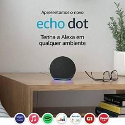 Alexa Echo Dot 4  Lacrada e garantia