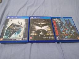 Jogos do Batman PS4