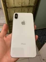 Iphone xs max 64GB - Silver - Vendo ou troco